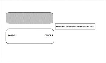 W2 Envelopes for 2up W2 Forms for Employees - ZBPforms.com