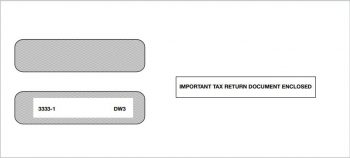 W2 Envelope for 3up W2 Forms for Employees - ZBPforms.com