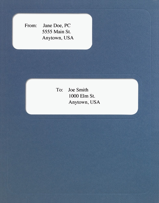 CCH Prosystem Tax Folders with Windows in Blue - ZBPForms.com