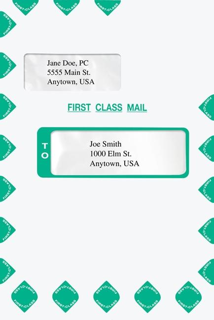 Expanding Envelope with Alternate Windows - Tyvek
