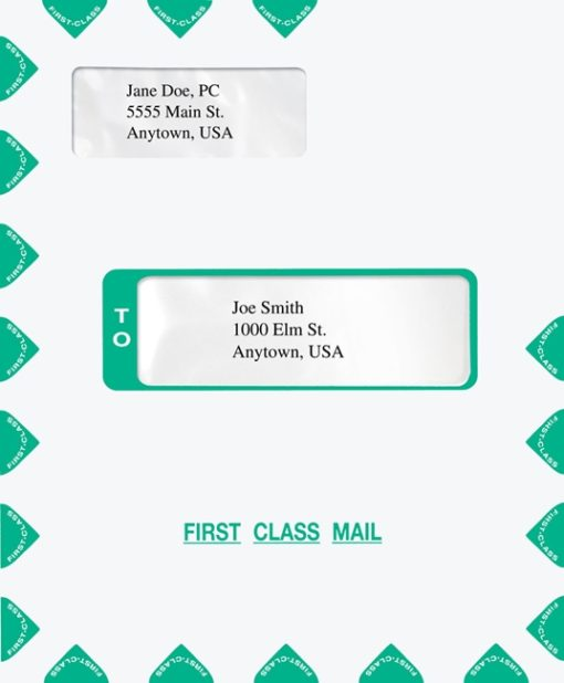 Fist Class Mail Envelope, also compatible with CCH Prosystem software - ZBP Forms