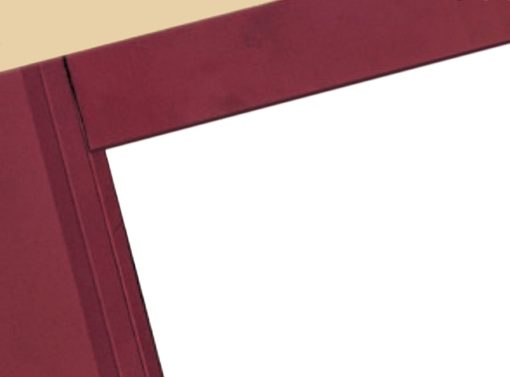 Top Staple Flap Tax Folders - Staple the document to the top flap, the fold over for an easy, secure, professional presentation - ZBPForms.com