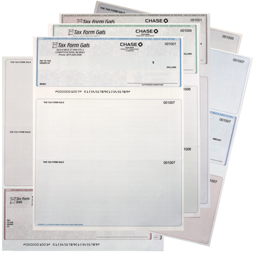 Printed Business Checks with Logos at Discounted Prices Everyday! ZBPForms.com