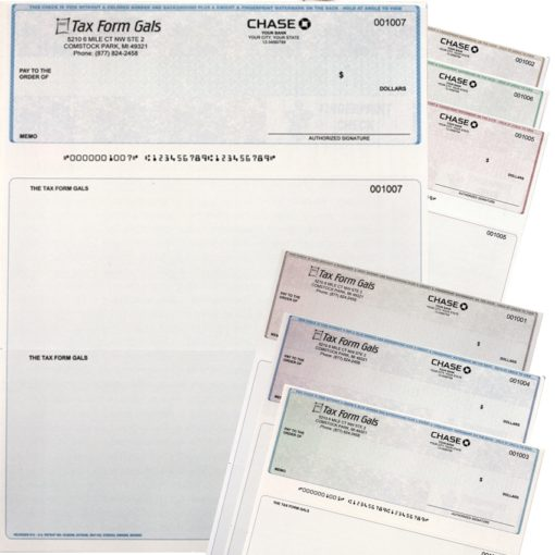 Business Checks in Top Position, with Logos and High-Security Features at Low Prices - ZBPForms.com