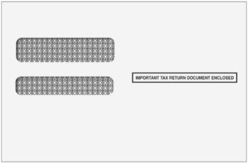 1095 Envelopes for Other Software - ZBP Forms