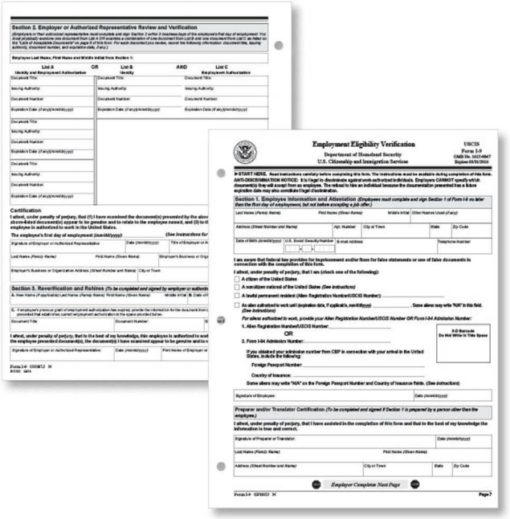 I-9 Forms by ComplyRight - ZBP Forms