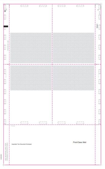 Pressure Seal Blank 1099 Forms 14″