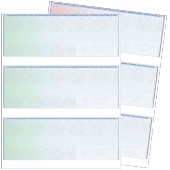 3up Blank Check stock for business - ZBPForms.com