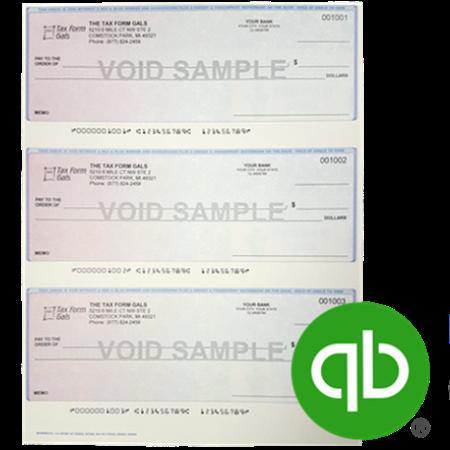 3up Checks for QuickBooks software - ZBPForms.com