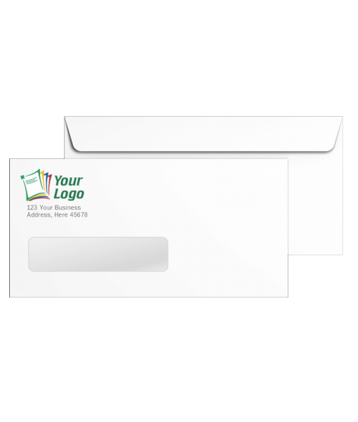 Custom #10 Envelopes with Window made in Grand Rapids MI - ZBPforms.com