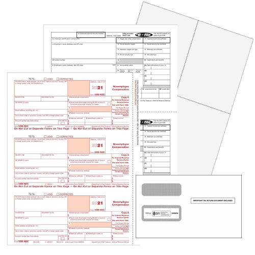 Software compatible 1099 and W2 Forms for 2020, including new 1099NEC Forms - ZBPforms.com
